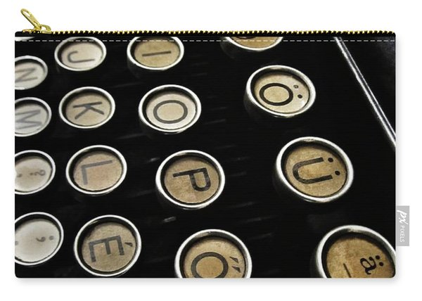 Unsaid Words Carry-all Pouch