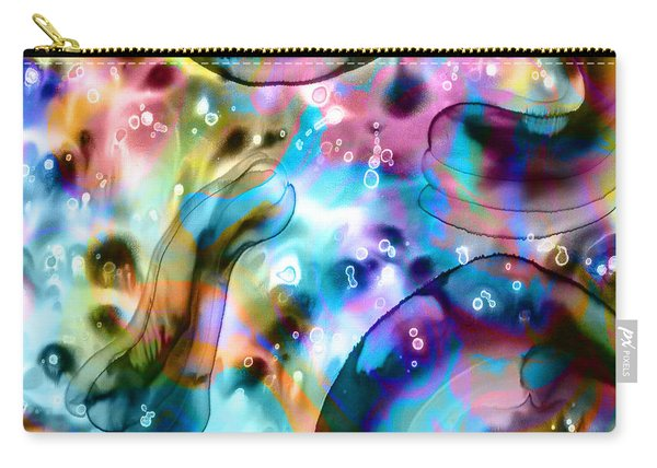 Molecules And Mankind Carry-all Pouch