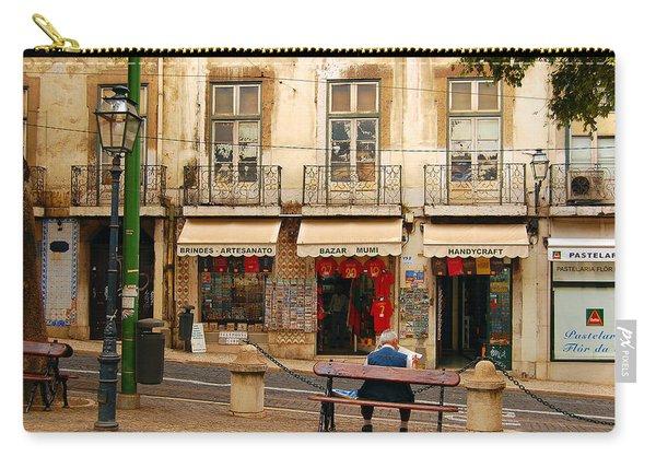Lisbon Street Scene Carry-all Pouch