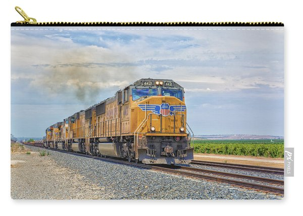 Carry-all Pouch featuring the photograph Up4421 by Jim Thompson