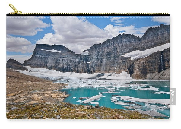 Upper Grinnell Lake And Glacier Carry-all Pouch