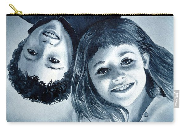 Upside Down Kids  Carry-all Pouch