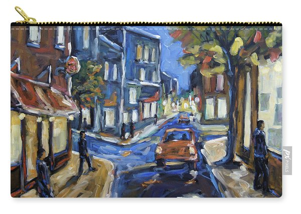 Urban Avenue By Prankearts Carry-all Pouch