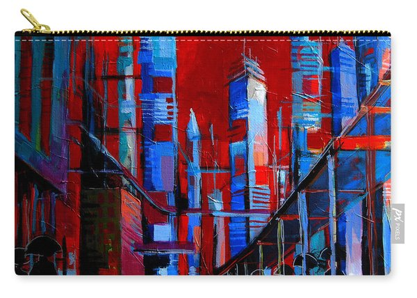 Urban Vision - City Of The Future Carry-all Pouch