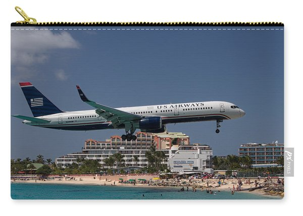 U S Airways At St Maarten Carry-all Pouch