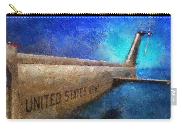 Us Army Copter Photo Art Carry-all Pouch