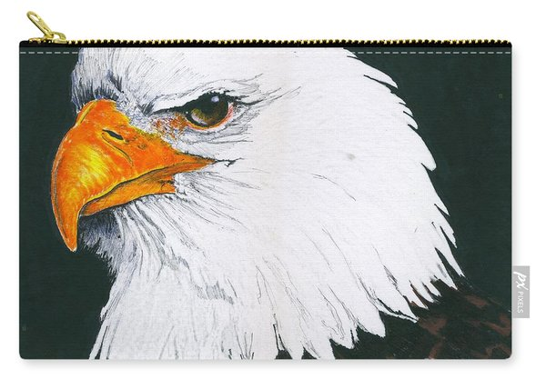 Us Bald Eagle Carry-all Pouch