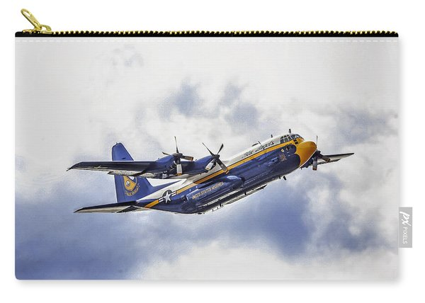 U S Navy Blue Angels C-130  Carry-all Pouch
