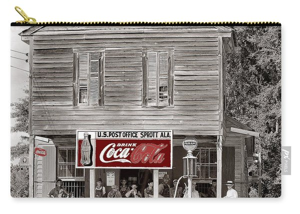 U.s. Post Office General Store Coca-cola Signs Sprott  Alabama Walker Evans Photo C.1935-2014. Carry-all Pouch