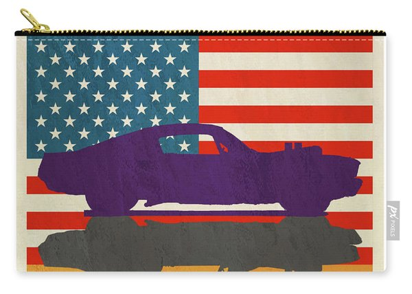 Usa Is Hot Rods Carry-all Pouch