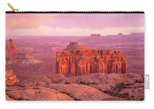 Usa, Utah, Canyonlands National Park Carry-all Pouch