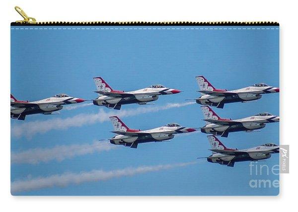 U.s.a.f. Thunderbirds Carry-all Pouch