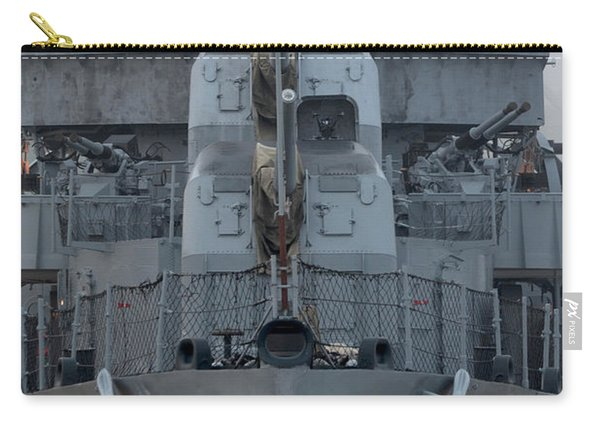 Uss Kidd Dd 661 Front View Carry-all Pouch