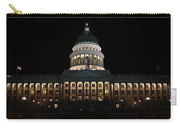 Utah State Capitol Front Carry-all Pouch
