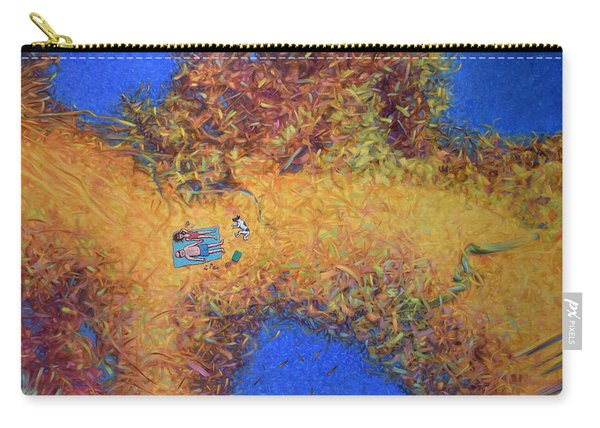 Vacationing On A Painting Carry-all Pouch