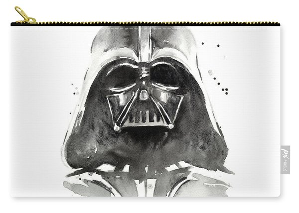 Darth Vader Watercolor Carry-all Pouch