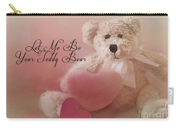 Valentine Bear 2 Carry-all Pouch
