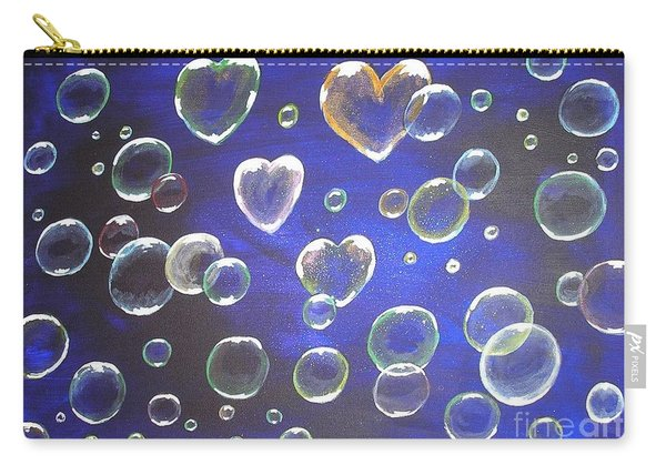 Valentine Bubbles Carry-all Pouch