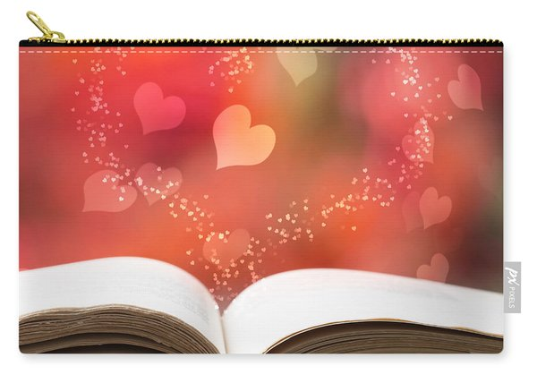 Valentine Story Book Carry-all Pouch
