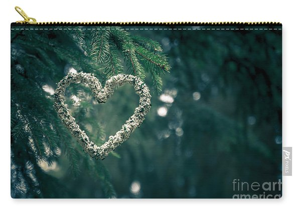 Valentine's Day In Nature Carry-all Pouch