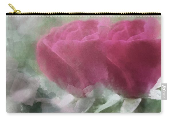 Valentine's Roses Carry-all Pouch
