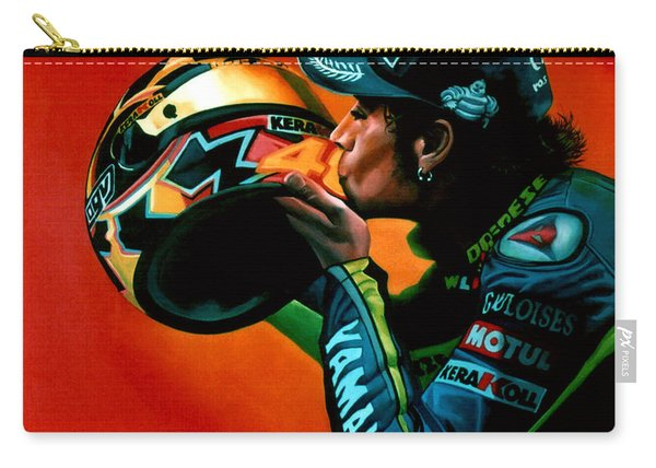 Valentino Rossi Portrait Carry-all Pouch