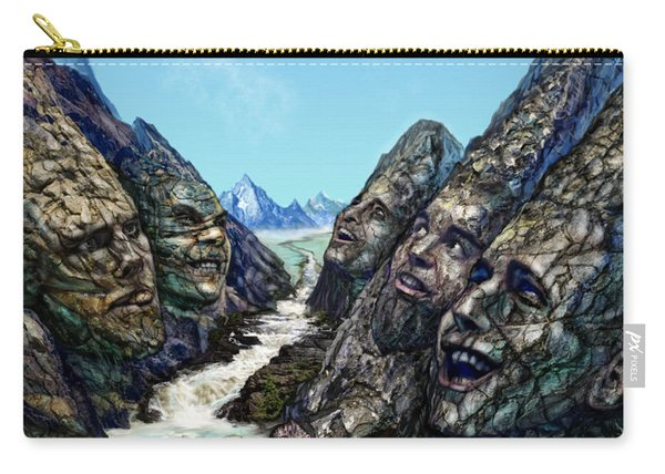 Valley Of The Absurd Carry-all Pouch