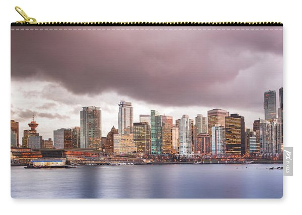 Vancouver Bc Cityscape Carry-all Pouch