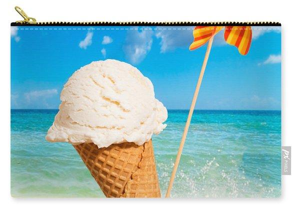 Vanilla Icecream Carry-all Pouch