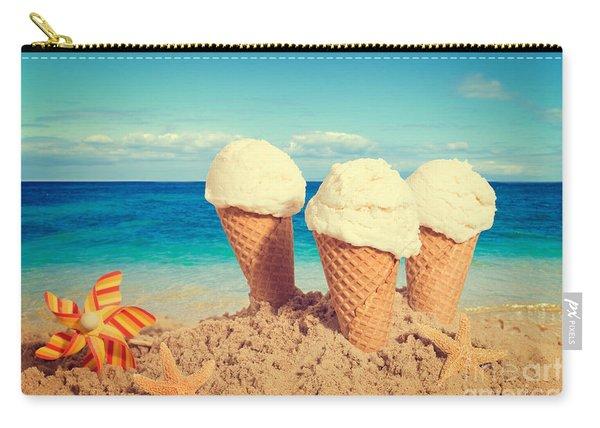 Vanilla Icecreams Carry-all Pouch