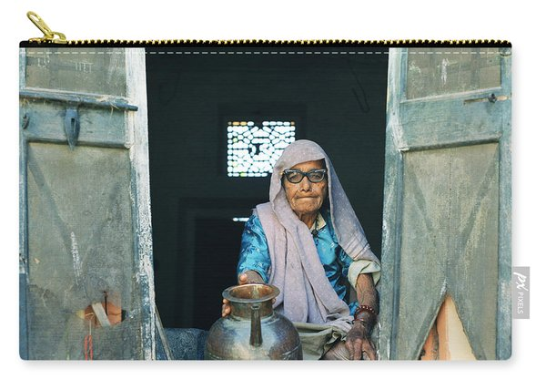 Varanasi Water Seller Carry-all Pouch