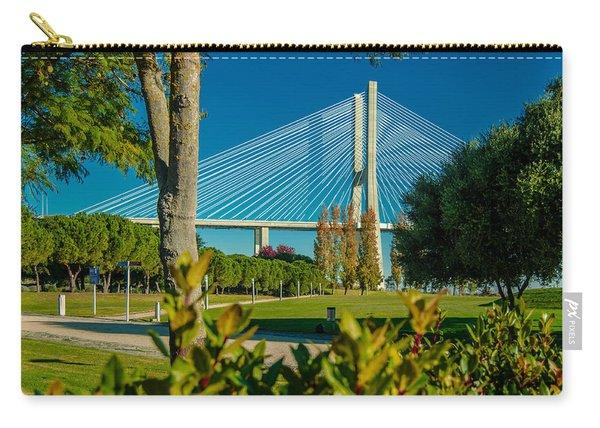 Vasco Da Gama Bridge IIi Carry-all Pouch