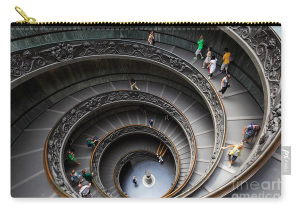 Vatican Spiral Staircase Carry-all Pouch