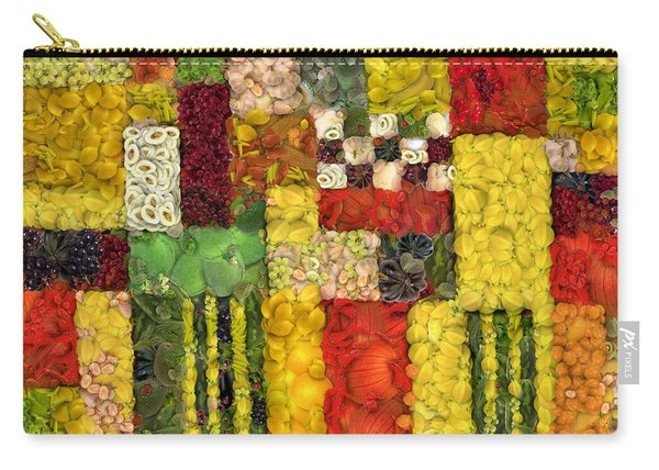 Vegetable Abstract Carry-all Pouch