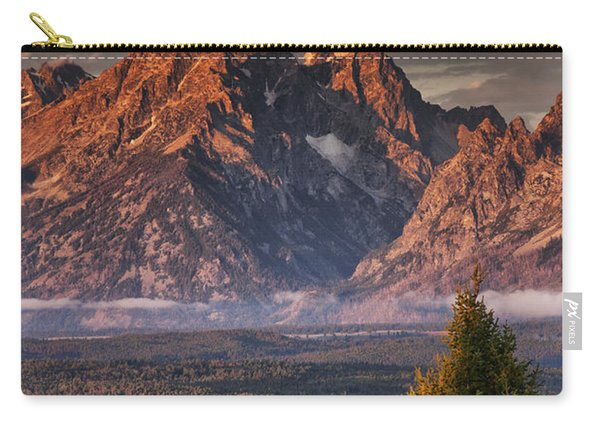 Veiled Tetons Carry-all Pouch