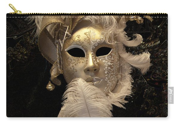Venetian Face Mask B Carry-all Pouch