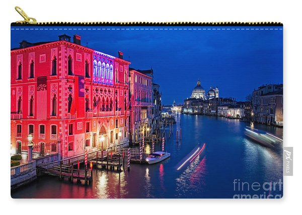 Venice By Night Carry-all Pouch