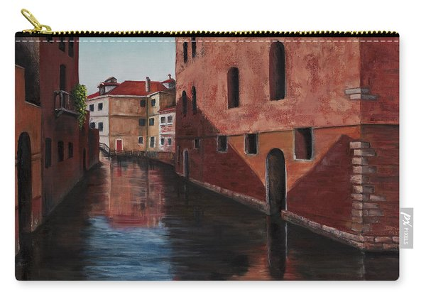 Venice Canal Carry-all Pouch