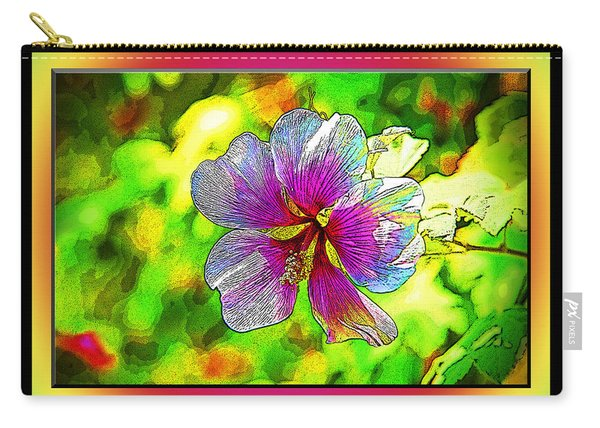 Venice Flower - Framed Carry-all Pouch