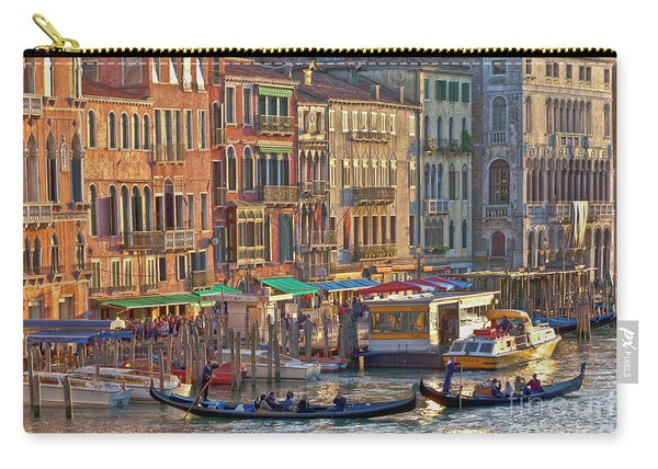 Venice Palazzi At Sundown Carry-all Pouch