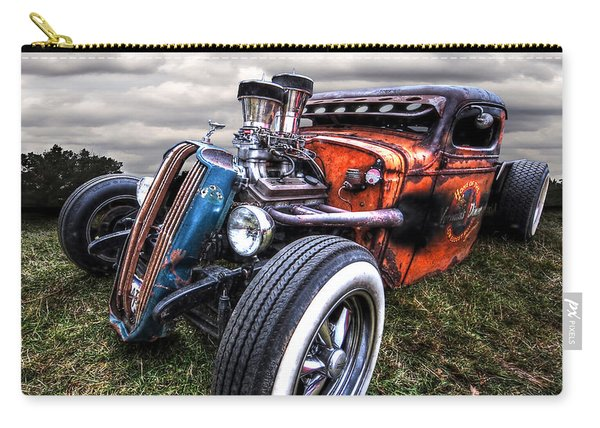 Vermin's Diner Rat Rod Front Carry-all Pouch