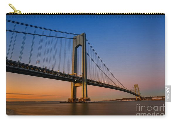 Verrazano Bridge Sunrise  Carry-all Pouch