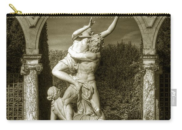 Versailles Colonnade And Sculpture Carry-all Pouch