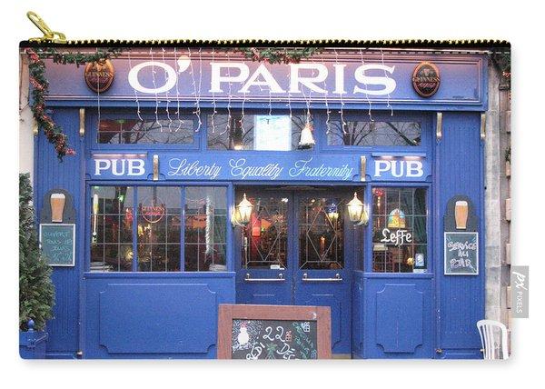 Versailles France Pubs - Versailles France Irish Pub - O' Paris - Versailles Pubs And Cafe Shops Carry-all Pouch