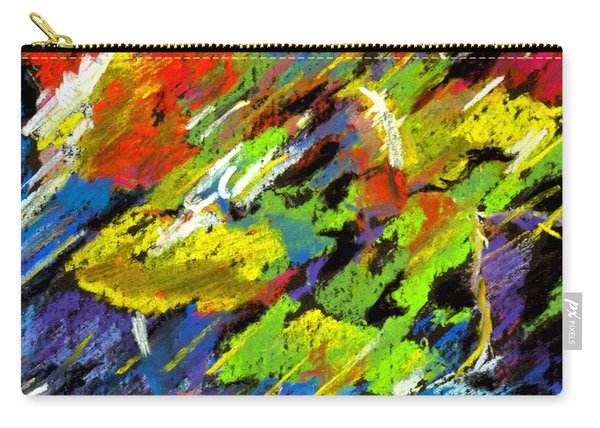 Colorful Impressions Carry-all Pouch