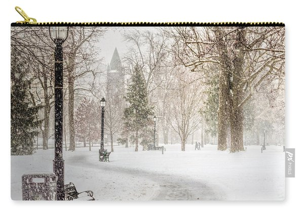 Carry-all Pouch featuring the photograph Victoria Park by Garvin Hunter