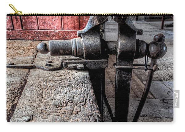 Victorian Bench Vice Carry-all Pouch