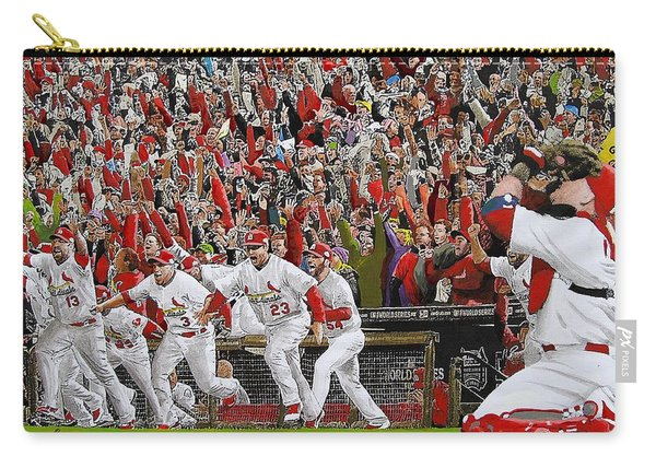 Victory - St Louis Cardinals Win The World Series Title - Friday Oct 28th 2011 Carry-all Pouch