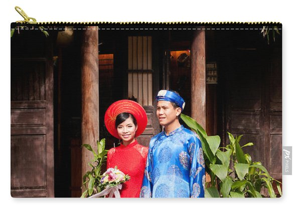 Vietnamese Wedding Couple 01 Carry-all Pouch