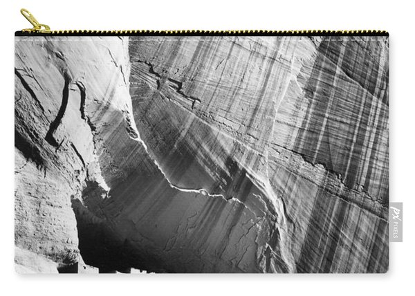 View From River Valley Canyon De Chelly Carry-all Pouch